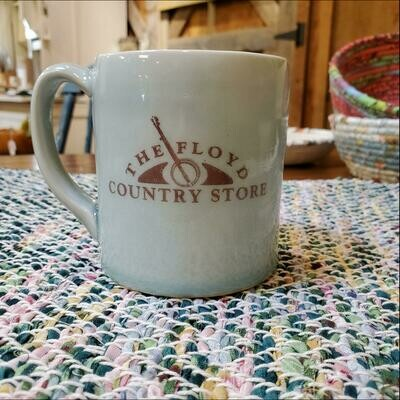 Hona Leigh Ceramics FCS Logo Mug Blue