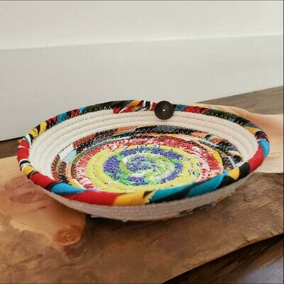 Salem's Grace 13B Muti Wrapped Fabric Bowl