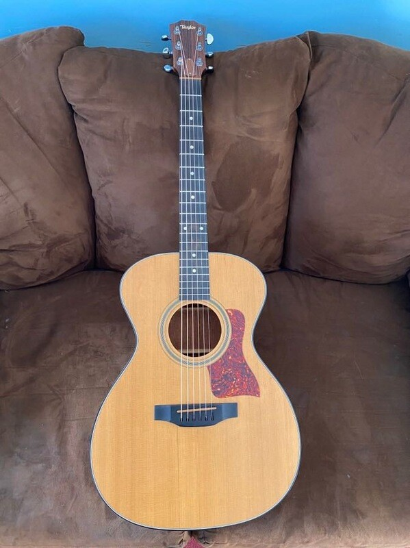 Taylor 412 Acoustic 1996 With Case
