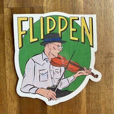 Benton Flippen Sticker