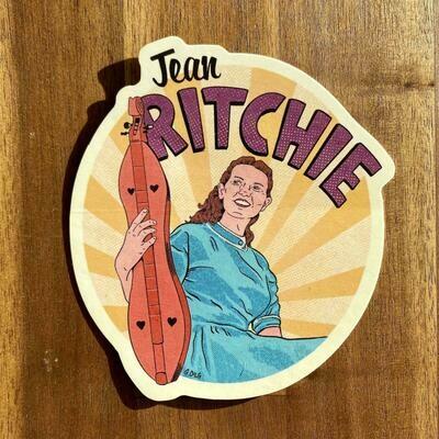 Jean Ritchie Sticker