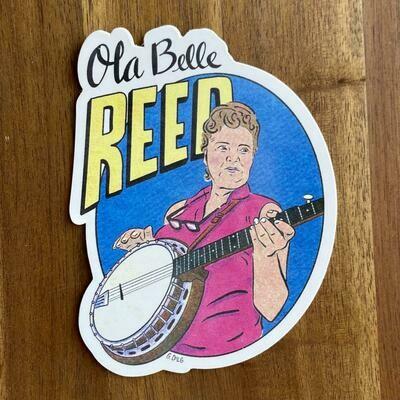 Ola Belle Reed Sticker