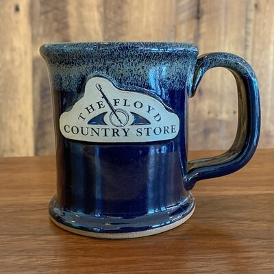 Floyd Country Store Sunset Hill Stoneware Mug Executive Slim Deep River Haze