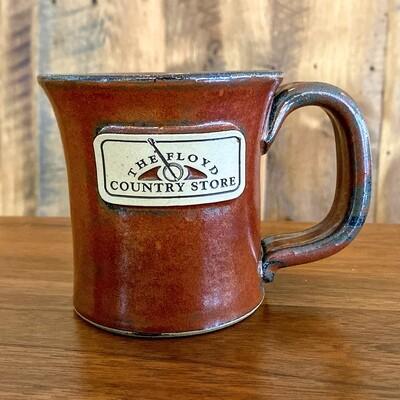 Floyd Country Store Sunset Hill Stoneware Mug Greek Goddess Sunfire Red