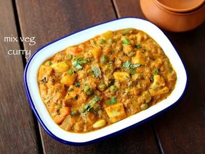 Vegan Mix-Vegetable Curry- GF