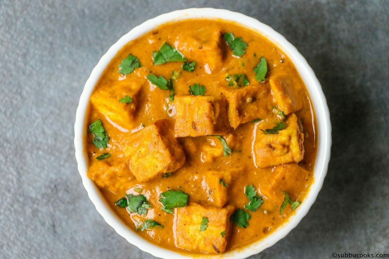 Vegan Shahi Tofu-GF