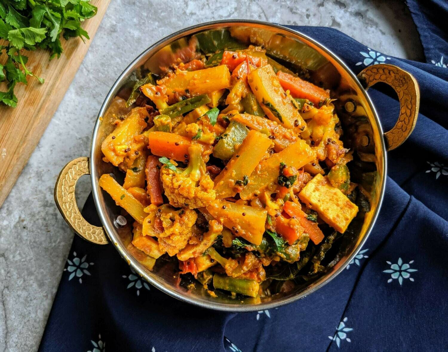 Vegan Vegetable Jalfrezi-GF