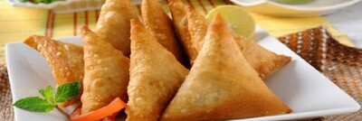 Vegan Chicken Samosa