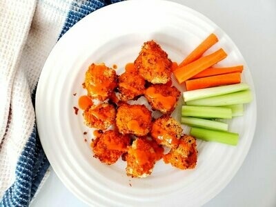 Vegan Buffalo Cauliflower Wings