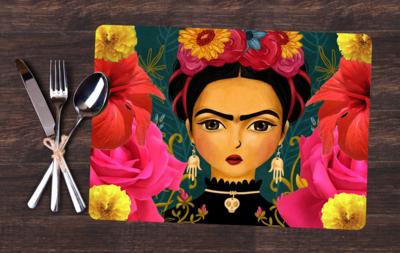 Jogo Americano - Frida Desenho