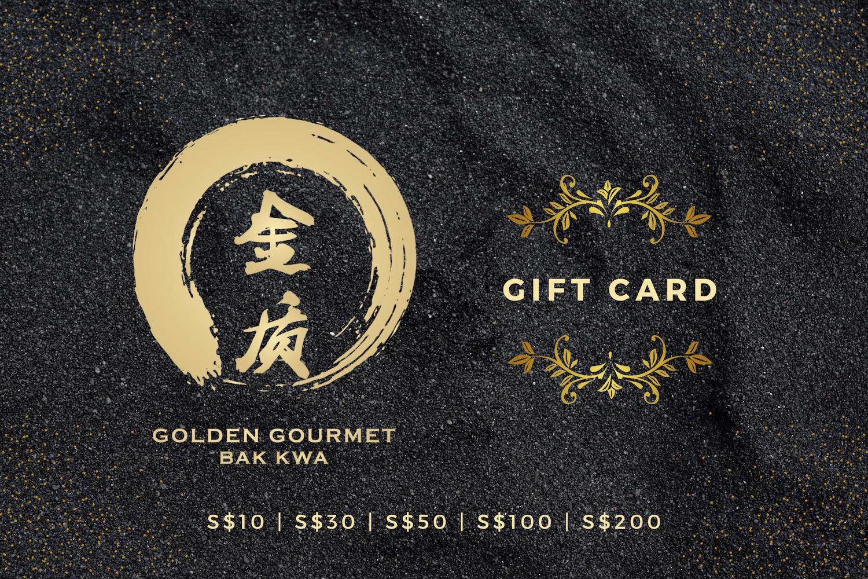 Golden Gourmet Gift card