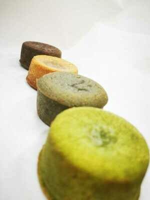 Green Tea + Salted Caramel Lava Cake