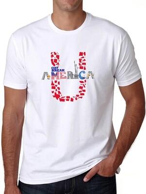 Unisex Crew Neck T-Shirt White