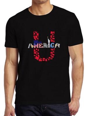 Unisex Crew Neck T-Shirt Black