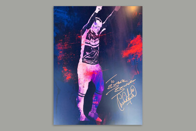 Charlie Adam Exclusive Signed Print
