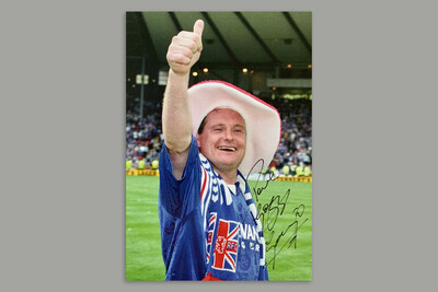 Gazza at Hampden