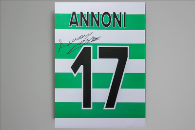 Enrico Annoni Number 17 Signed Print