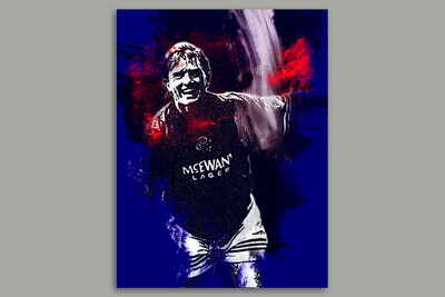 Stuart McCall Exclusive Signed Print