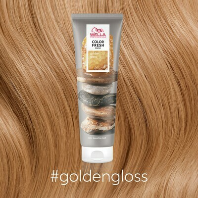 Wella Color Fresh Mask-Golden Gloss
