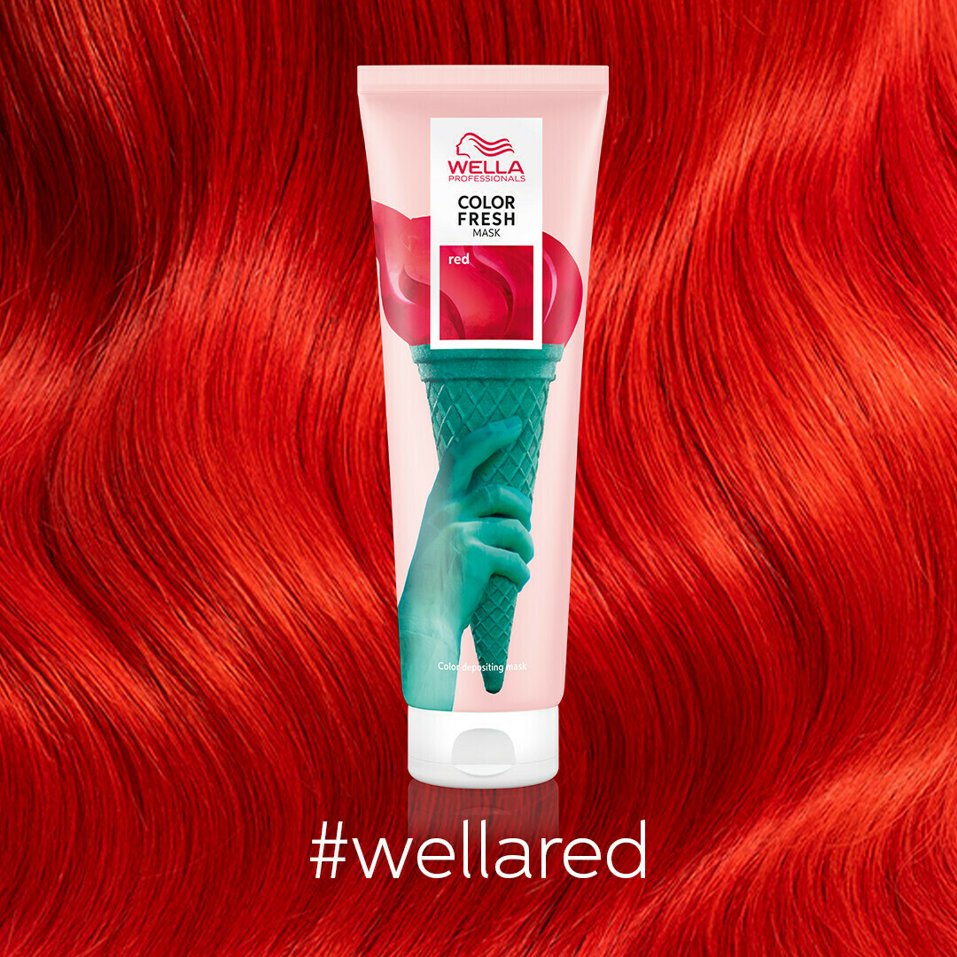 Wella Color Fresh Mask-Red