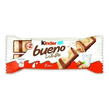 Kinder Bueno blanc / white