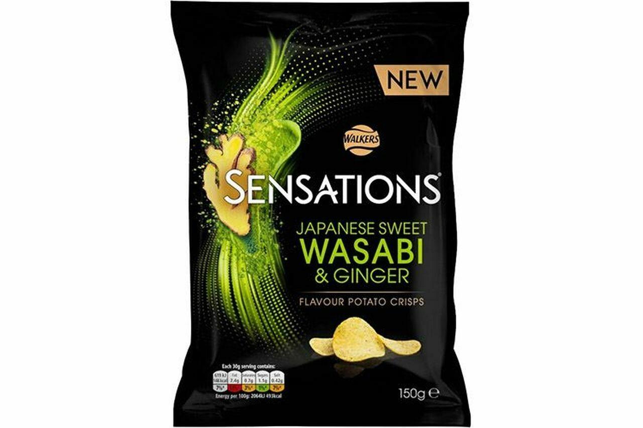 Sensations Japanese Sweet Wasabi & Ginger