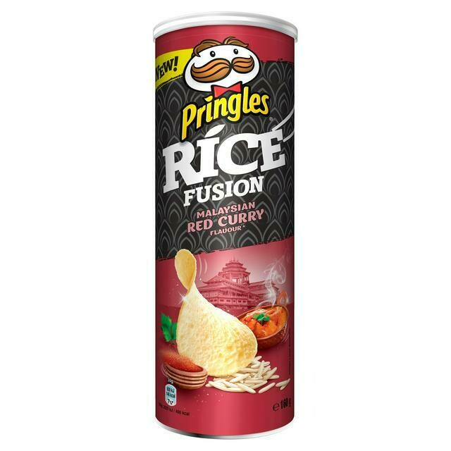 Pringles Malaysian Red Curry Flavour
