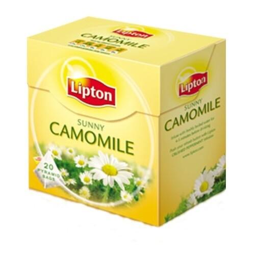 Yellow Lipton Sunny Camomile