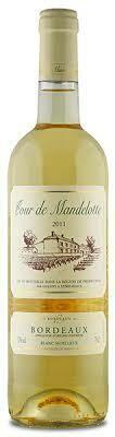 Cour de Mandelotte   Vin Blanc