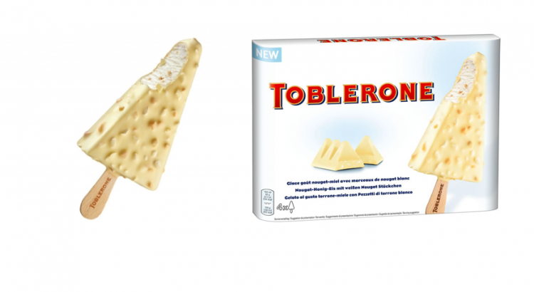 Toblerone Ice cream white