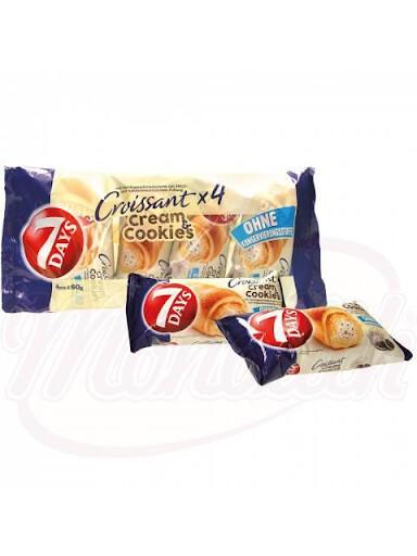 4 Croissant Cream & Cookies