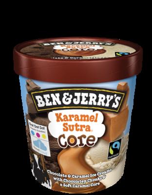 Ben & Jerry's Karamel Sutra Core