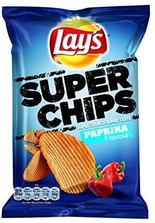 Lays Super Chips Paprika