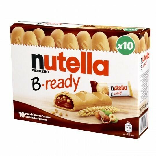 Nutella B-Ready x10