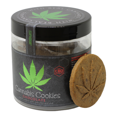 Cannabis Cookies Chocolate