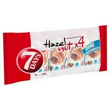 4 Croissant Hazelnut