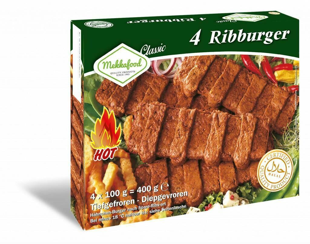 Mekkafood Ribburger