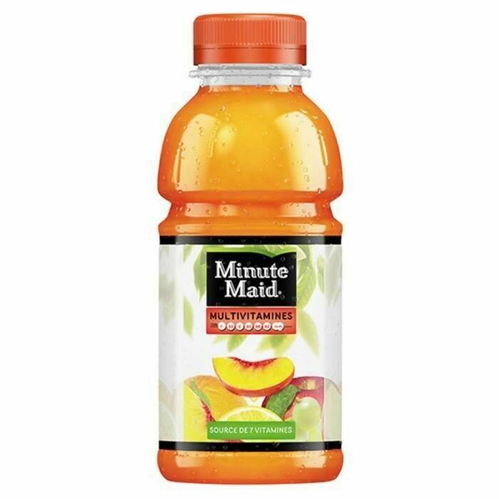 Minute Maid Mutli vitamine 33cl bouteille
