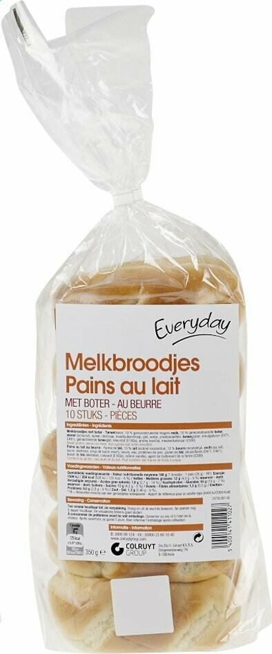 Melkbroodjes / Pains au lait