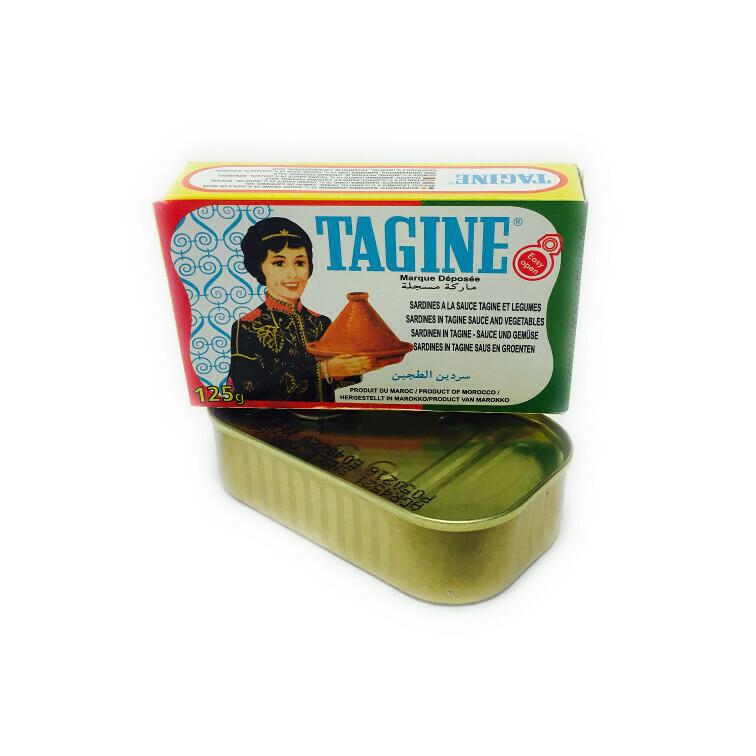 Sardines à la sauce Tagine et Légumes  Sardines in Tagine saus en Groenten