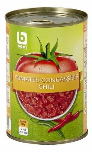 Tomates concassées Chili 400g