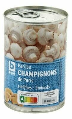Champignons de Paris 280g émincés - schijfes