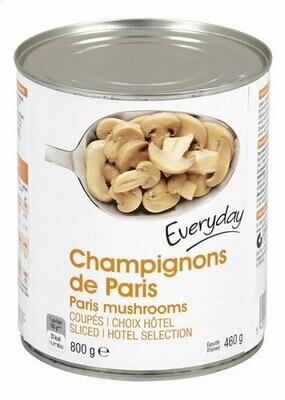 Champignons de Paris  Coupés/Gesneden