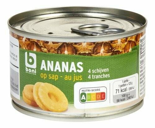 Ananas au Jus 227g