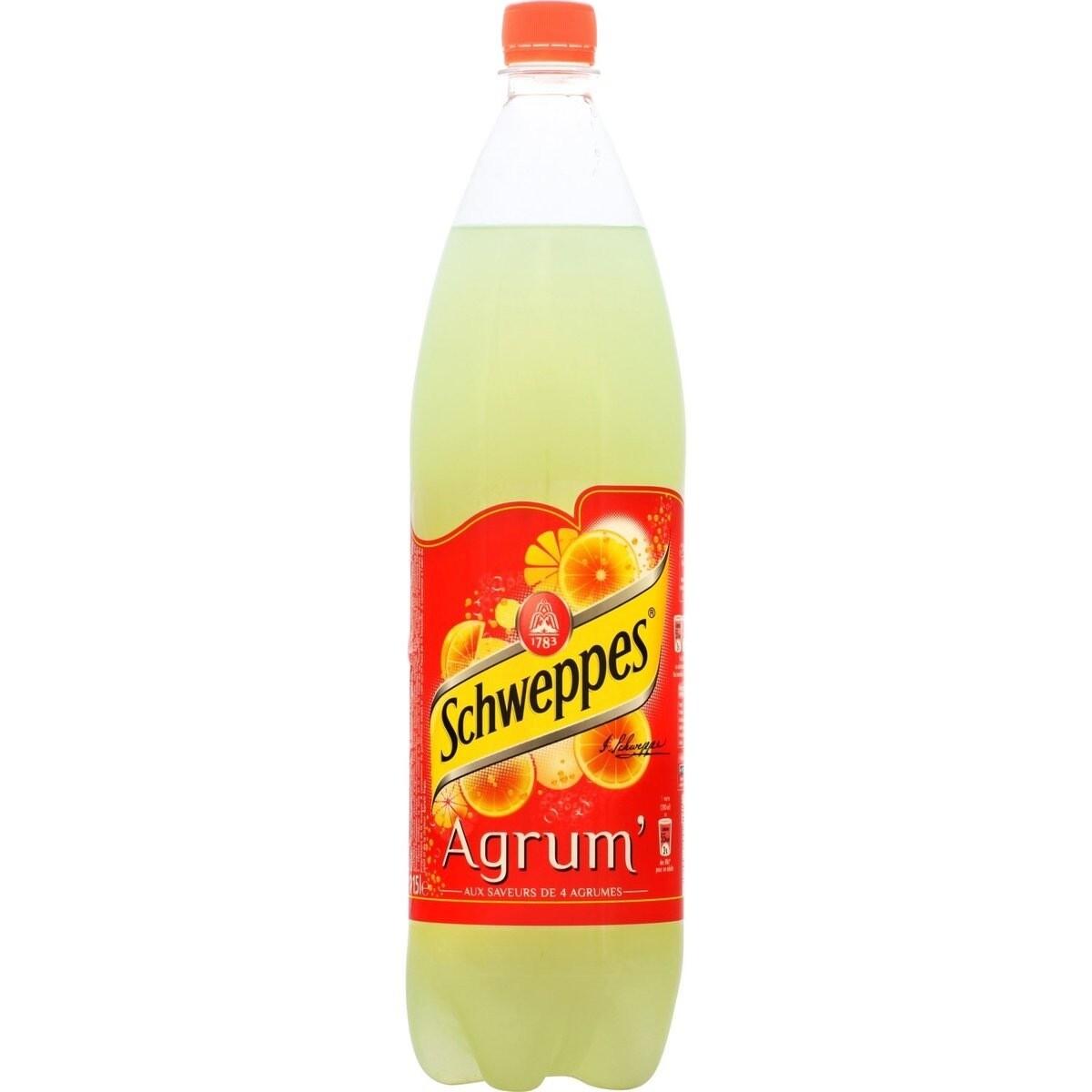 Schweppes Agrum' 1,5L