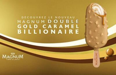 Magnum Gold Caramel Billionaire