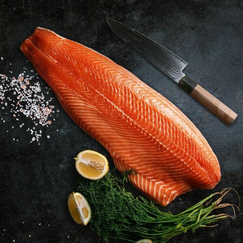 SALMON FISH FILLET(500 GRM)