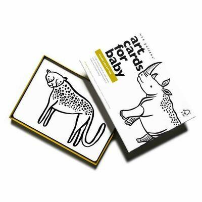 Wee Gallery Beebi kunstikaardid – Safari