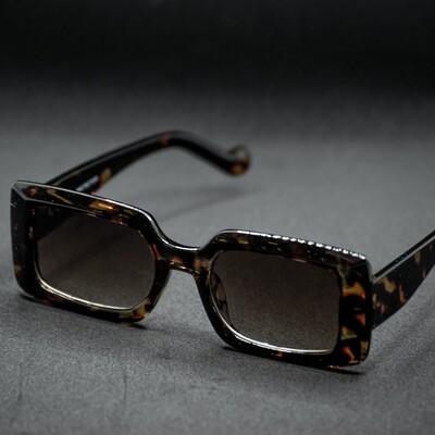 lunettes de soleil monture marbré