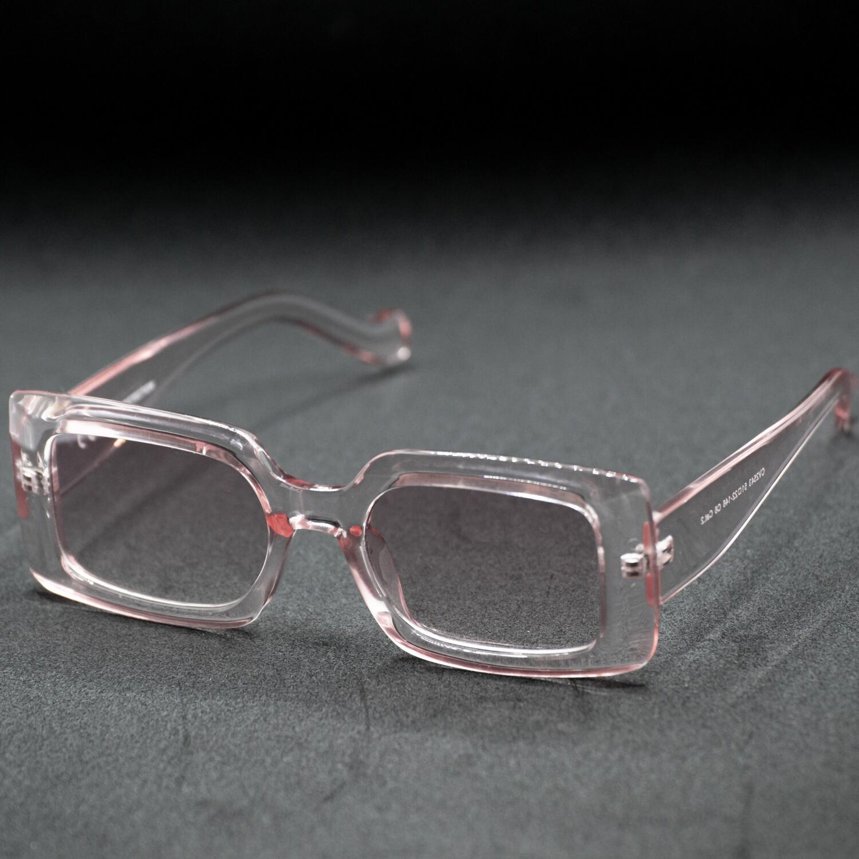 lunette de soleil monture translucide